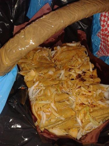 tacos de canasta 2.50 tio fel como lo vio en la tv ,
