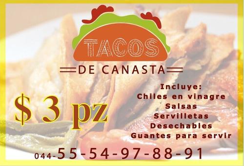 tacos de canasta originales