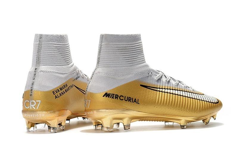Tacos De Futbol Nike Mercurial Cr7 Quinto Triunfo -   1 242e68dc6ec65