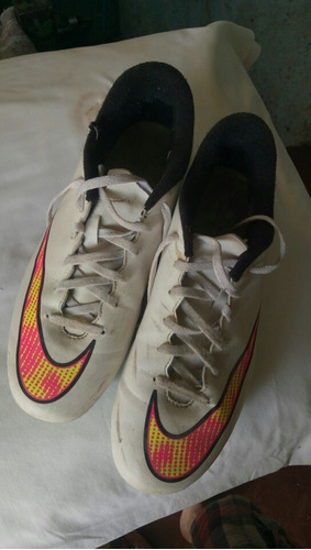 tacos de fútbol nike mercurial | talla 43 | usados