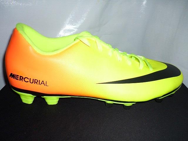 f4e2b6ca0e131 Tacos De Futbol Nike Mercurial Vortex (basico) -   400.00 en Mercado ...