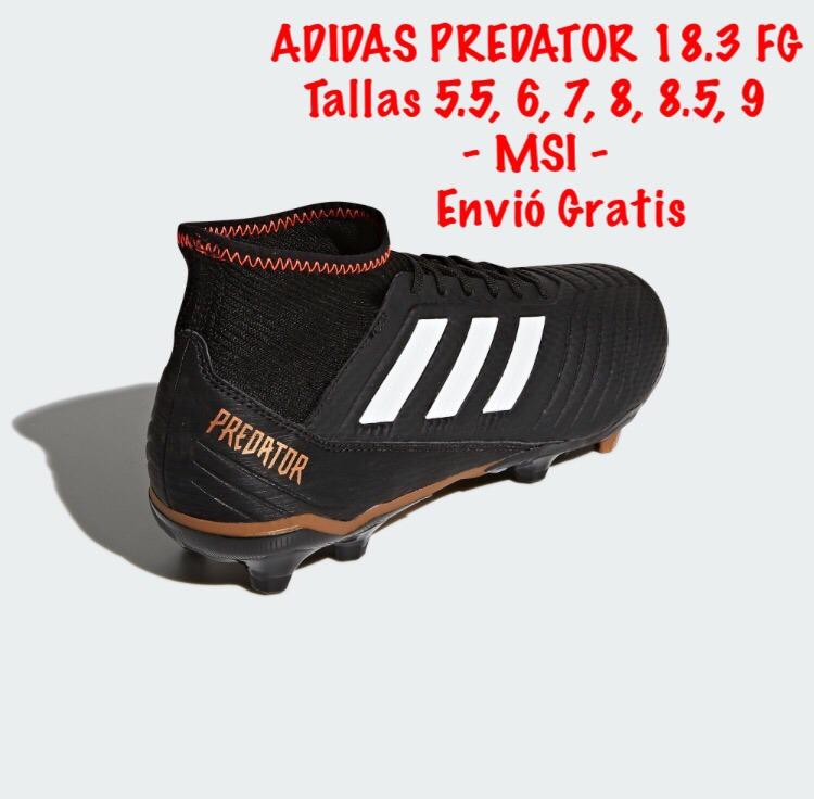 ae9692b233f ... hot tacos fut adidas predator 18.3 fg. tallas varias 5 al 9 d07f7 78618