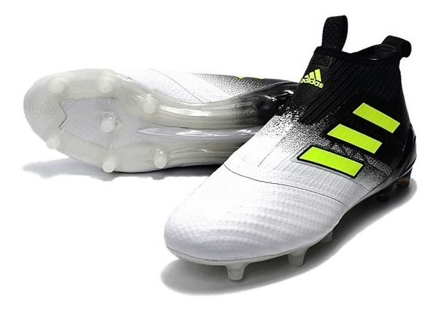on sale 1c3df 58bb3 Tacos Futbol adidas Ace 17+ Purecontrol Solar Yellow -