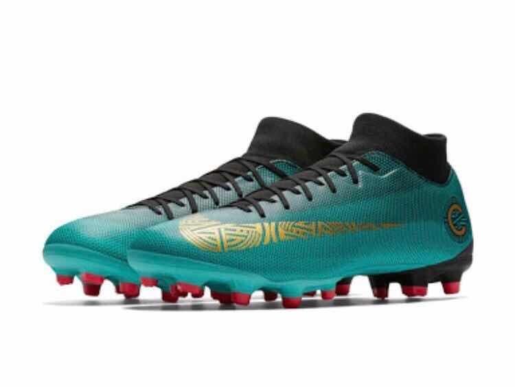 Tacos Futbol Cr7 Nike Mercurial - Msi - ( 7 Y 7.5) Original ... 9999716e91b8d