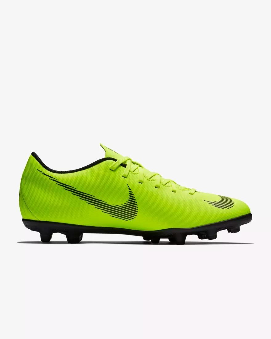 Tacos Futbol Nike Mercurial Vapor Xii Club Mg Verde 2651040 ... 06de12d562911