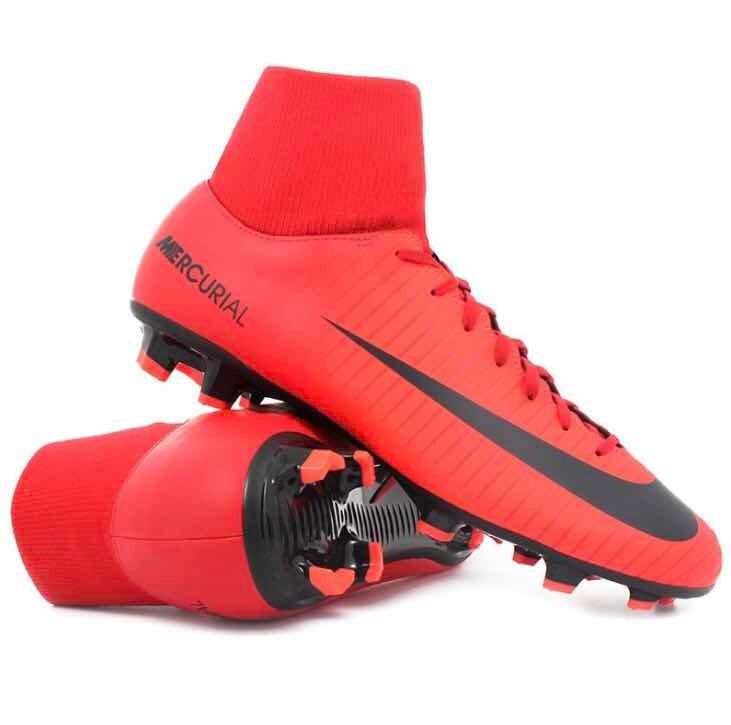 Tacos Fútbol Nike Mercurial Vi  27.5 100% Originales. -   1 25d7daf234947