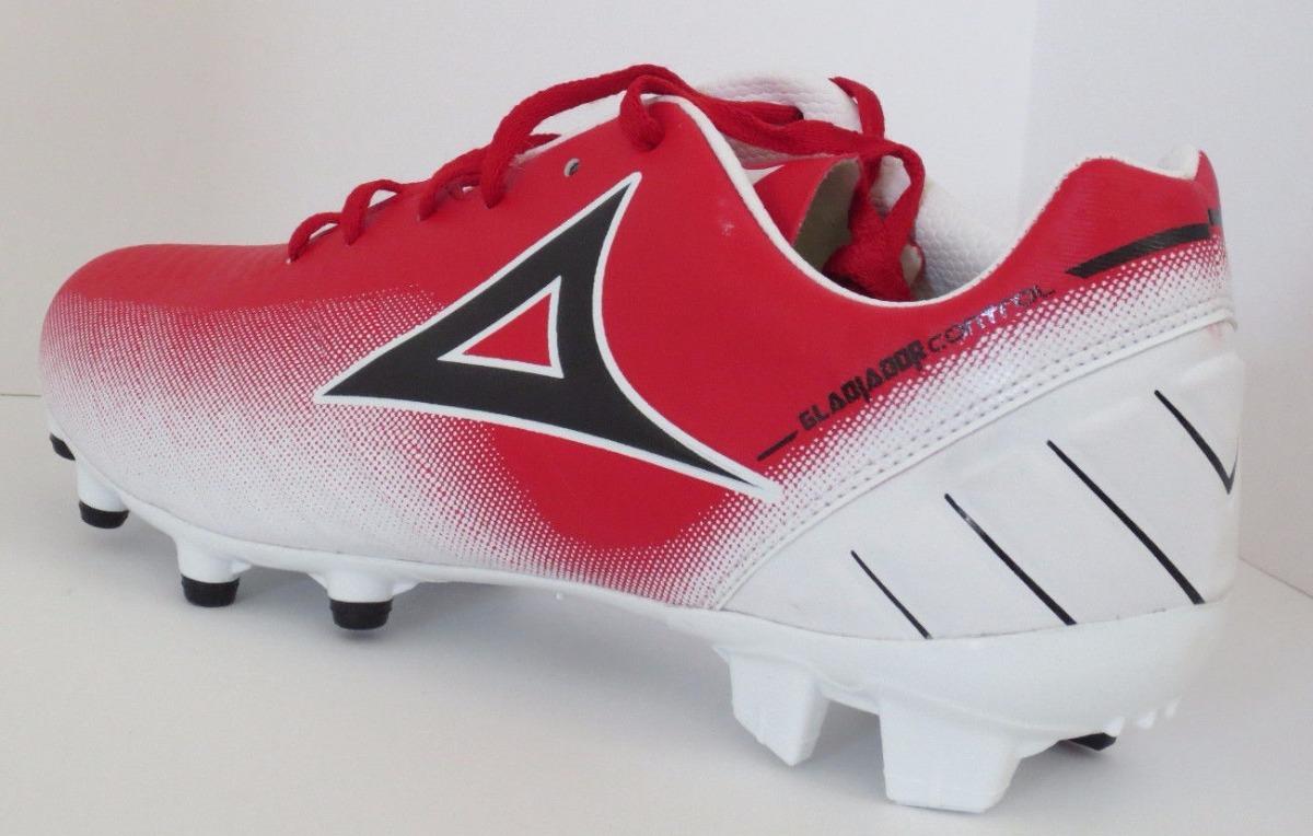 tacos futbol pirma gladiador control rojo blanco original. Cargando zoom. 280e86a76821d
