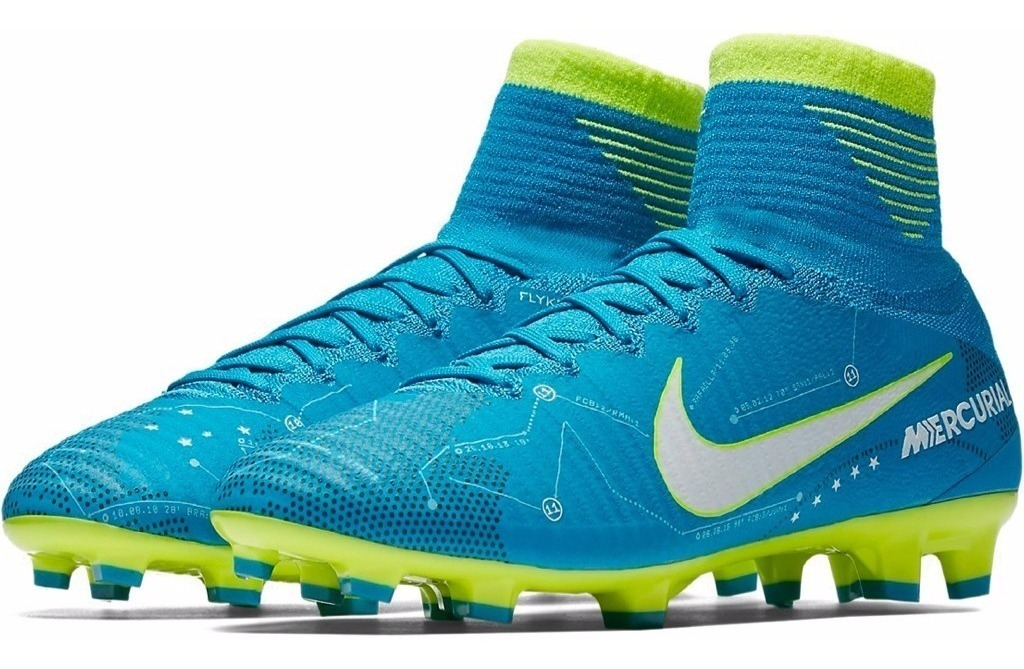 wholesale dealer d54e2 ef473 Tacos Neymar Nike Jr Mercurial Superfly 5 Njr Fg Acc Niños