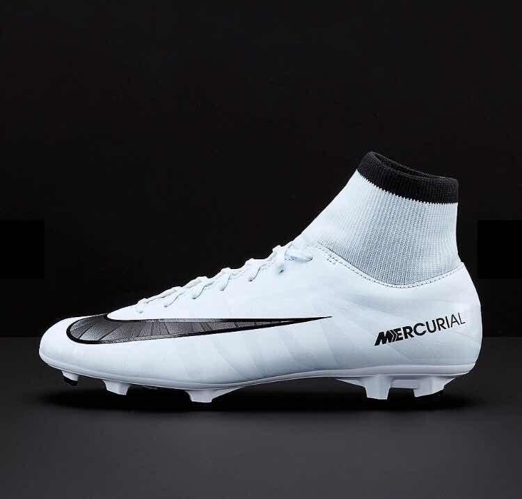 056e5a7068a4b Tacos Nike Cr7 - Cristiano Ronaldo Mercurial Fg  8.5 Mx Caja ...