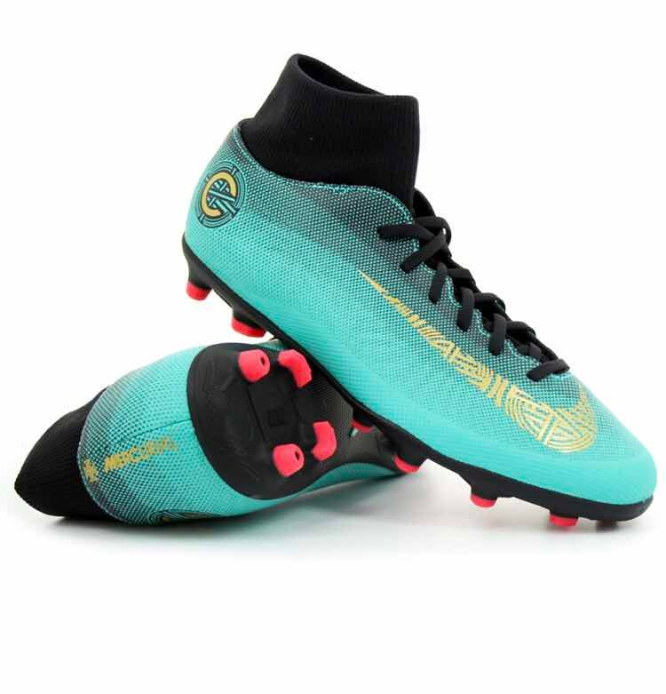 Tacos Nike De Fut Cr7 Mercurial Superflyx Club  5.5 Y 7.5 ... 0354f84d20b88