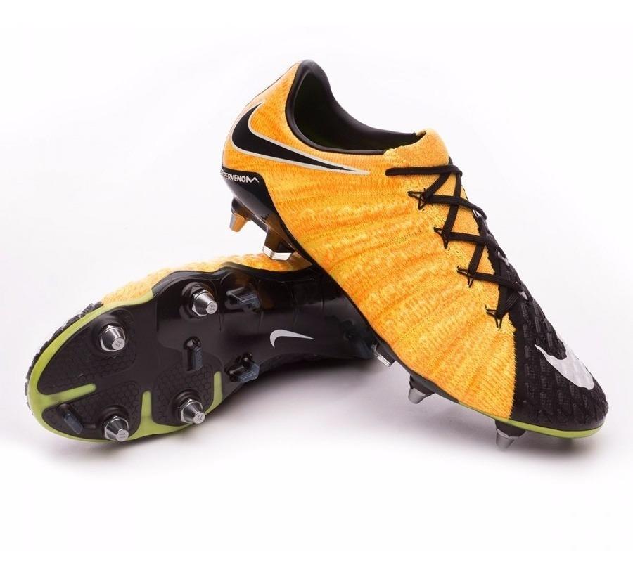 huge selection of 67021 b49e9 Tacos Nike Hypervenom Phantom 3 Sg-pro Acc Profesionales