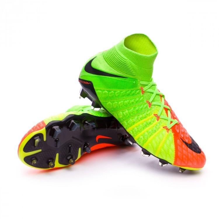 3fcce290b2aa7 Tacos Nike Hypervenom Phantom Iii Botin Fg Profesionales ...
