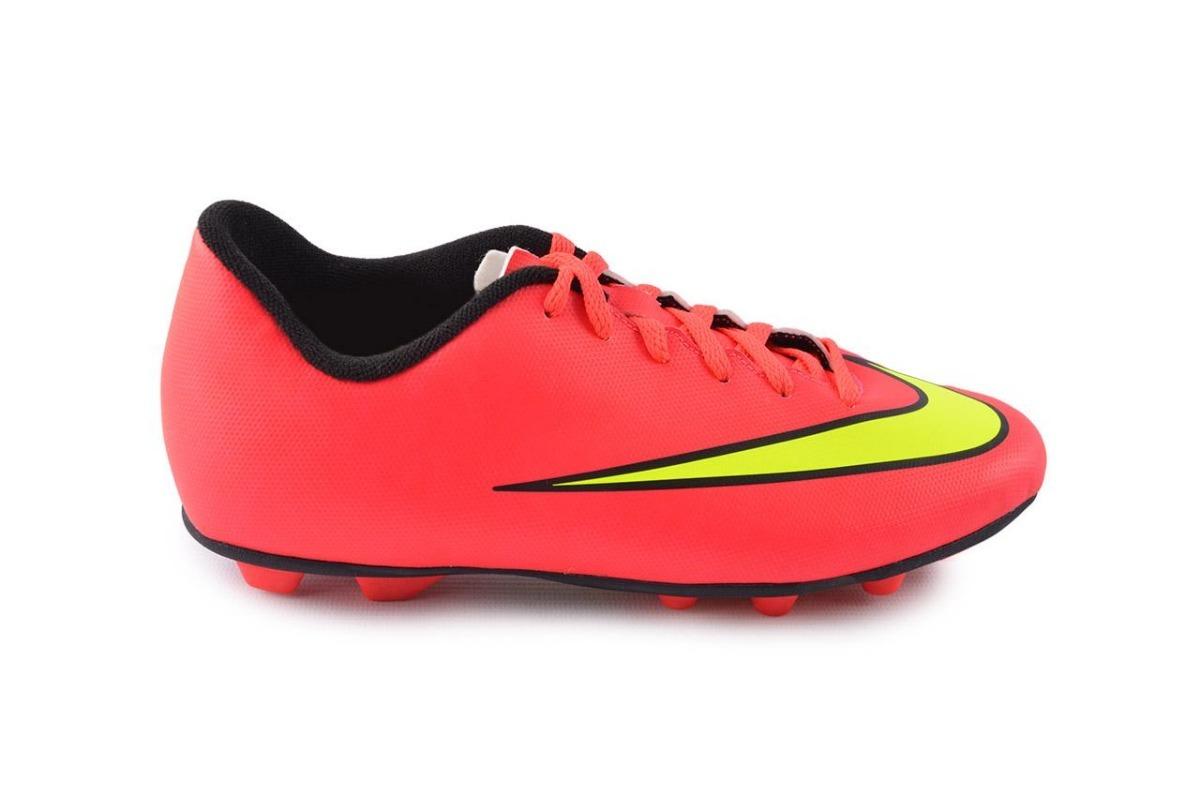 de13ed0af25c4 Tacos Nike Jr Mercurial Vortex Ii Fg 651642-690 Rosa -   690.00 en ...