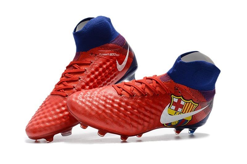aa96470858f8c Tacos Nike Magista Obra Fg Barcelona -   2