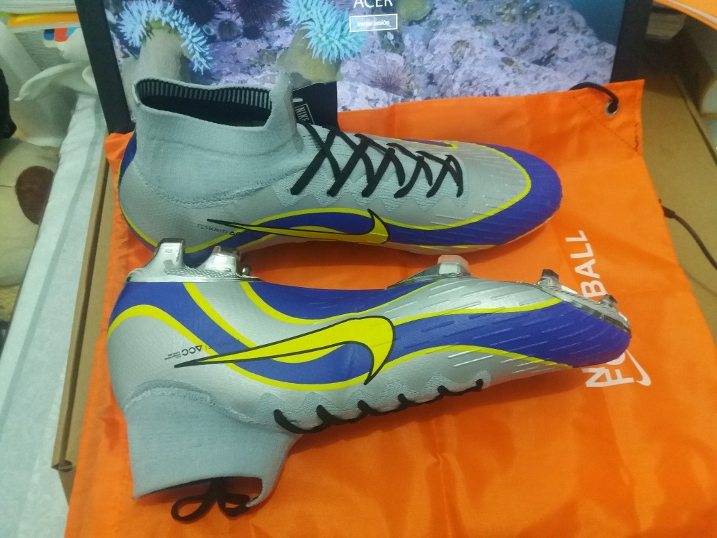 new release new arrivals cheaper Tacos Nike Mercurial Superfly R9 Ronaldo 1998. 27.5cm..