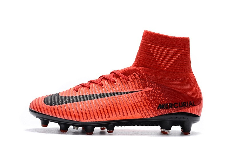 newest collection bd9c3 b7307 ... hot tacos nike mercurial superfly v ag pro red black. cargando zoom.  2f53a 85c41