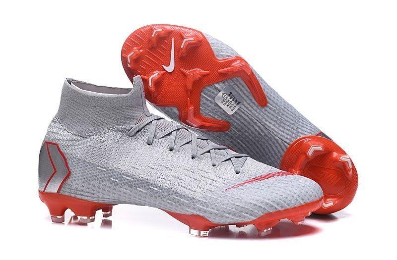 03b2cf75806 Tacos Nike Mercurial Superfly Vi 360 Elite Fg - Silver  Red ...