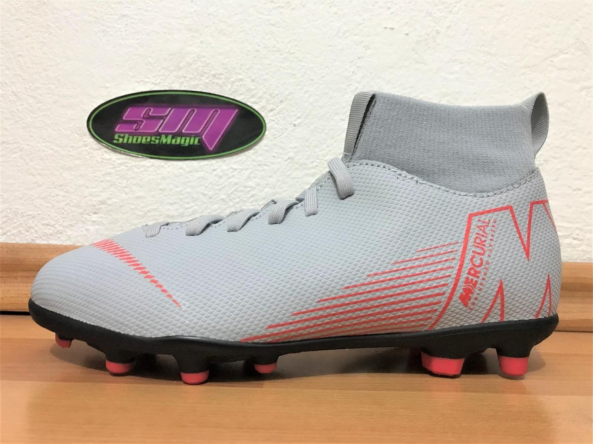 b139f9f1bbe64 Tacos Nike Mercurial Superfly Vi Club Para Niño -   799.00 en ...