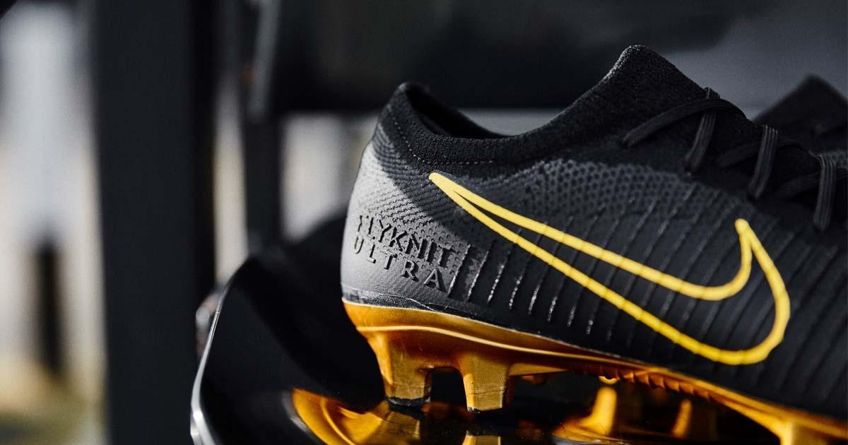 buscar genuino nuevo estilo de 2019 extremadamente único Tacos Nike Mercurial Vapor Flyknit Ultra Gold