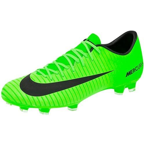 8ef28e9875168 Tacos Nike Mercurial Vortex 831964-303 Verde-negro Oi -   1