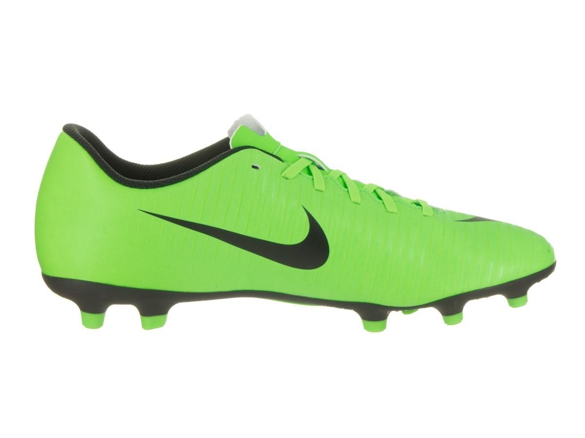 d7ad2b12a4d58 Tacos Nike Mercurial Vortex Iii Fg 831969-303 Verde (6 Únic ...