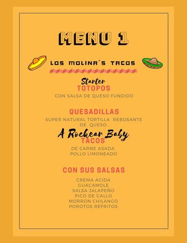 tacos party . catering de tacos. tacos mexicanos.