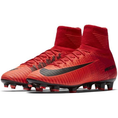 462069d6746 Tacos Taquetes Nike Mercurial Superfly V Fg Evolution Rojos ...