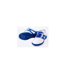 ef819ff7a1040 Tenis Para Futbol Rapido Manriquez Blanco azul ¡envio Gratis.   799