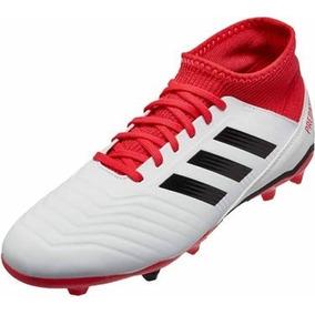 dfaac2d974ad7 Taquetes adidas Predator Blancos Futbol Soccer Niños 22-24.5