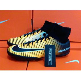 bd63c0fc7520a Tenis Nike Mercurial Bota Futbol Rapido - Tacos y Tenis Amarillo de ...