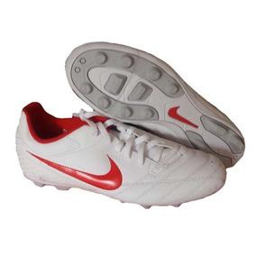 ba2664696a4b8 Cr7 Taquetes Para Niños Futbol Baratos - Tacos y Tenis Nike Blanco ...