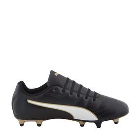9288e65e5e2ca Tenis Deportivo Futbol Puma Classico C Ii Fg Jr 182445 Negro