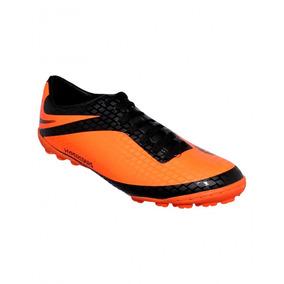 9aae747c5443c Tenis Deportivo Para Futbol Sintetico Naranja Negro Marca St