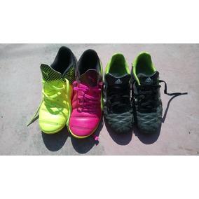 fb8337c61db4c Zapatos Suela De Goma Para Jugar Futbol En Pasto Sintético