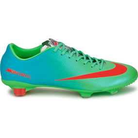 25bf94d0f8516 Tacos Nike Mercurial 2015 - Tacos y Tenis Césped natural Nike Verde ...