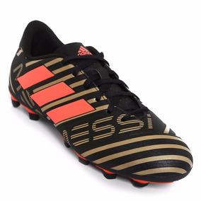 580db8ce3358e Taquete De Futbol adidas Nemeziz Messi Negro-dorado Original