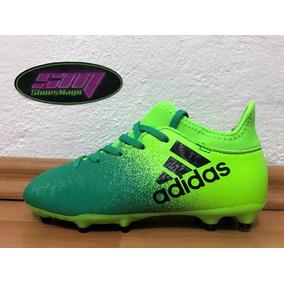 5132542237575 Tacos adidas X 16.3 De Bota Para Niño Futbol Soccer