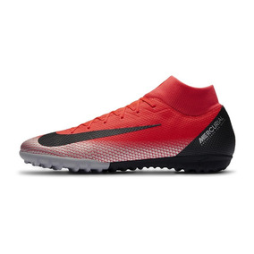 dd0eb9ae7185e Taquetes De Futbol Mujer - Tacos y Tenis Césped natural Nike Rojo de ...