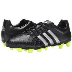 a8e22d911ca6a adidas Ace 15.4 Botin Futbol Hombre Negra Amarillas Predator