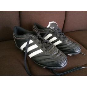 Futbol Negros Zapatos Blanco Y De Con Césped Tenis Adidas Tacos 45LARj