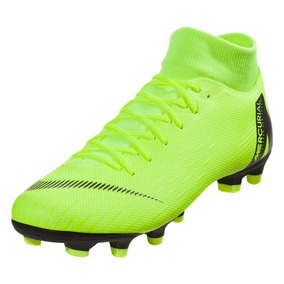 fdfbf8cf22a9f Mercurial Superfly Electro - Tacos y Tenis Césped natural Nike Verde ...