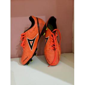 e03da06f5a16b Tenis Para Futbol Marca Pirma Naranja - Como Nuevos- Oferta!