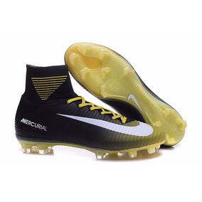 bd4b3df6615b6 Nike Mercurial Superfly V Negros - Tacos y Tenis de Fútbol en ...