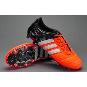 d29def76270bd Tacos Adidas Ace 15.1 Blanco Con Negro - Tacos y Tenis de Fútbol en ...