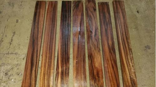 tacos y cachas de madera para  encabar cuchillos de kurupay