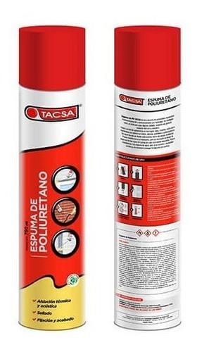 tacsa espuma 750 ml - construccion oferta