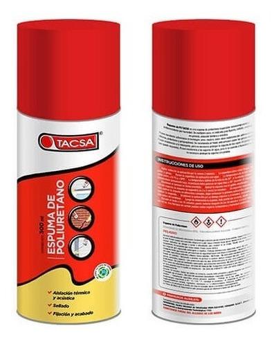 tacsa espuma de poliuretano expandido 300 ml - oferta