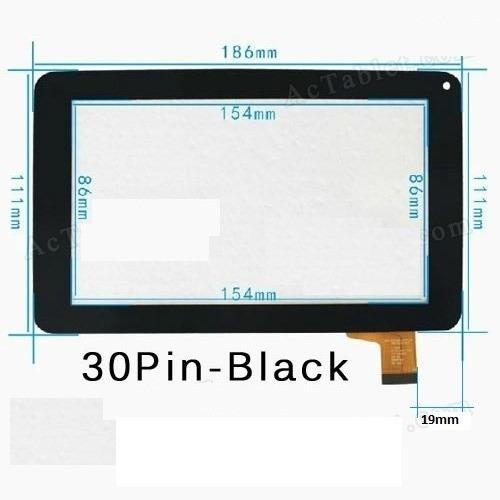tactil de tablet tech pad xtab785 flex c186111b1 86v