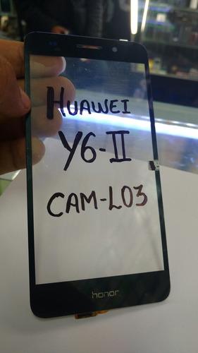 tactil huawei y6-ii / cam l03 + instalación