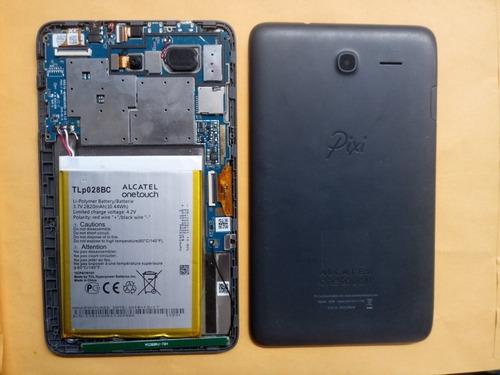 tactil, pantalla y placa de tablet alcatel pixi 3 (7) 8056